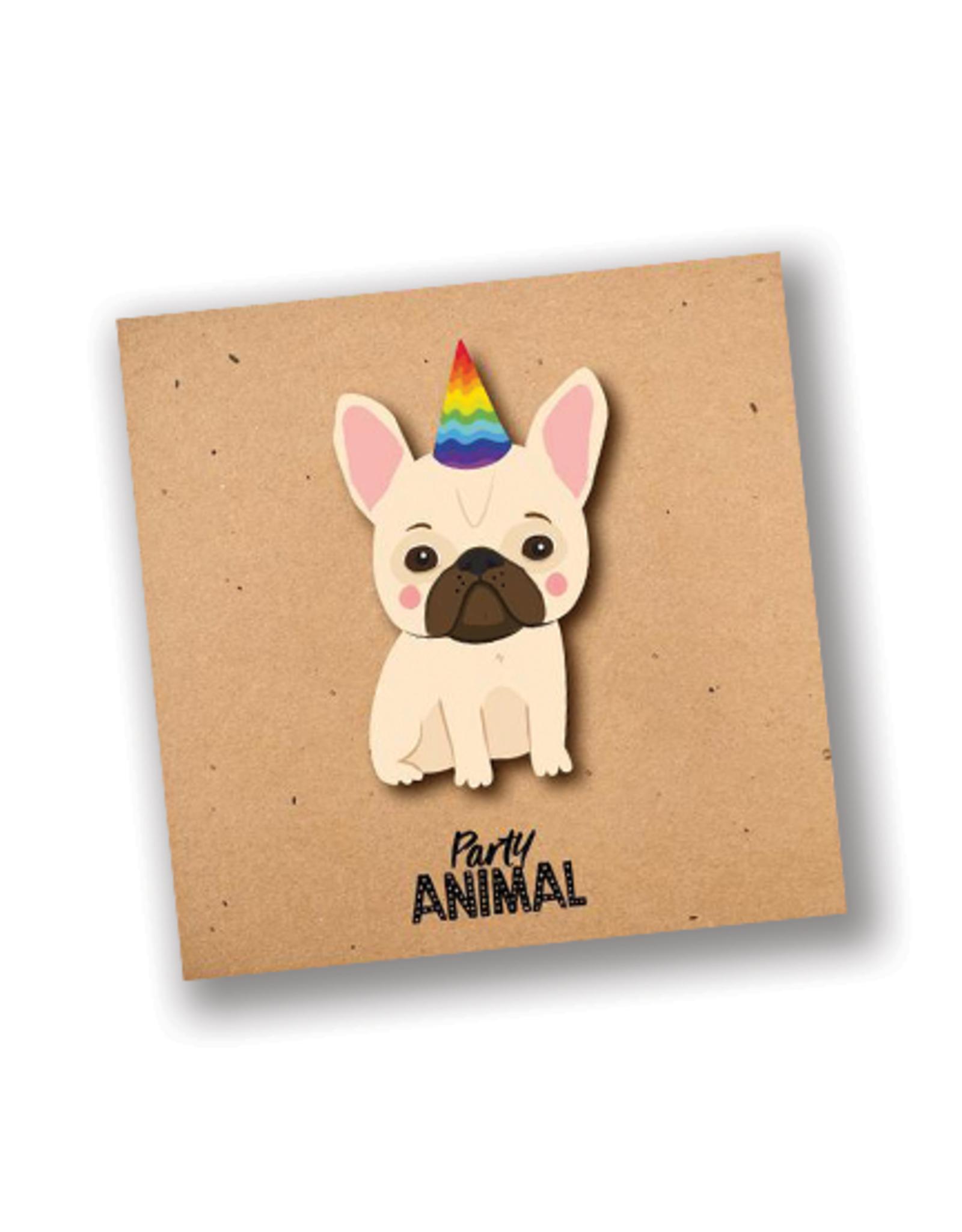 """Party Animal"" Birthday Card"