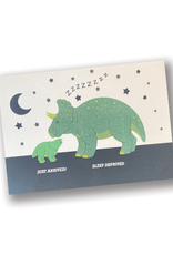 """""""Just Arrived"""" New Baby Dinosaur Card"""
