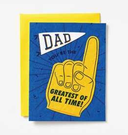 Dad, You're the Greatest of All Time! Card