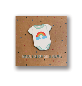 Congrats on your Little Miracle! Card