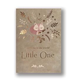 """Little One"" Baby Fox Card"
