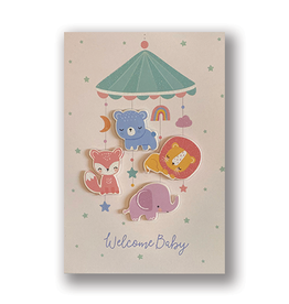 """""""Welcome Baby"""" Card"""