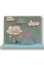 """""""Welcoming the New One"""" Pop-Up Baby Card"""