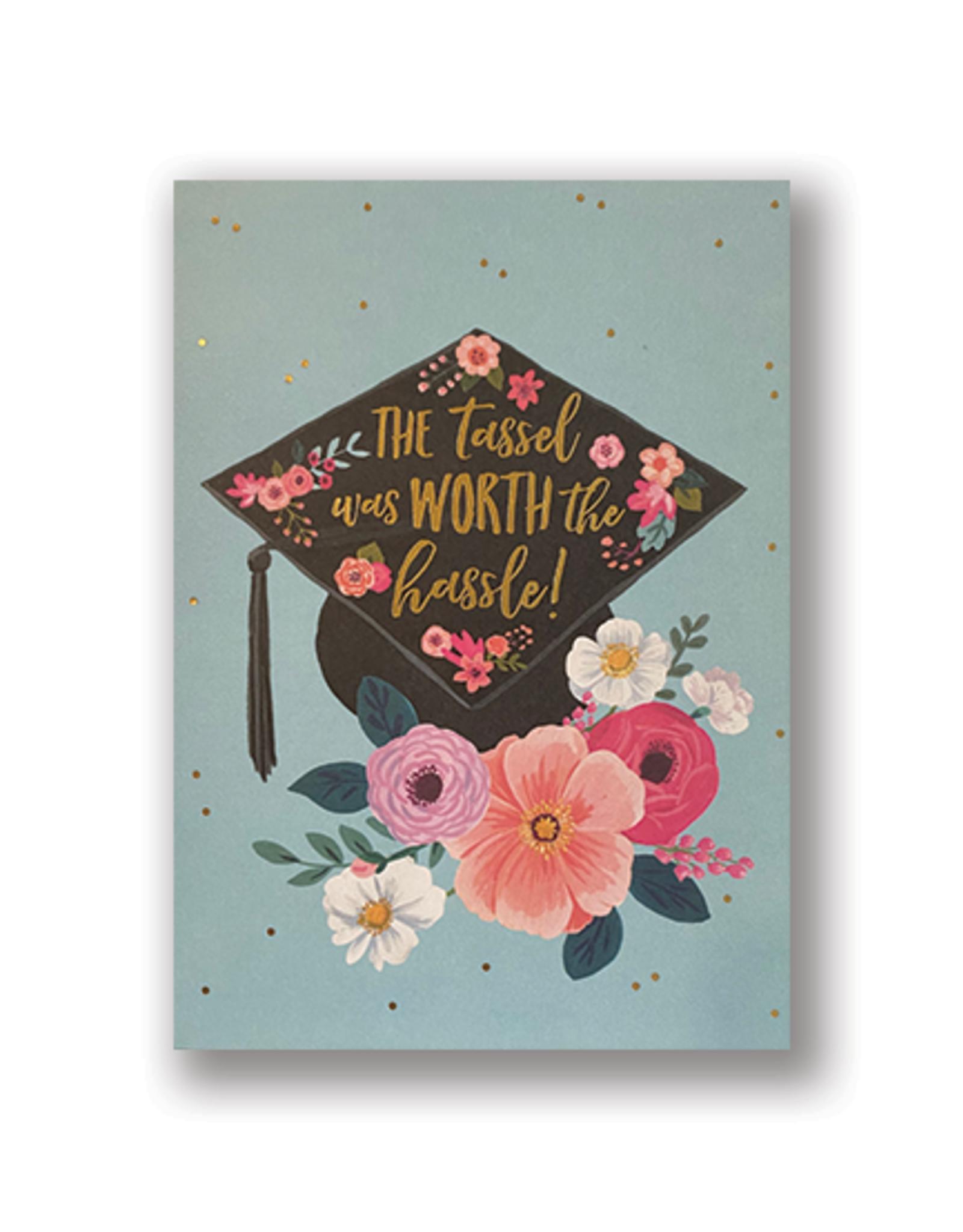 """The Tassel"" Graduation Card"