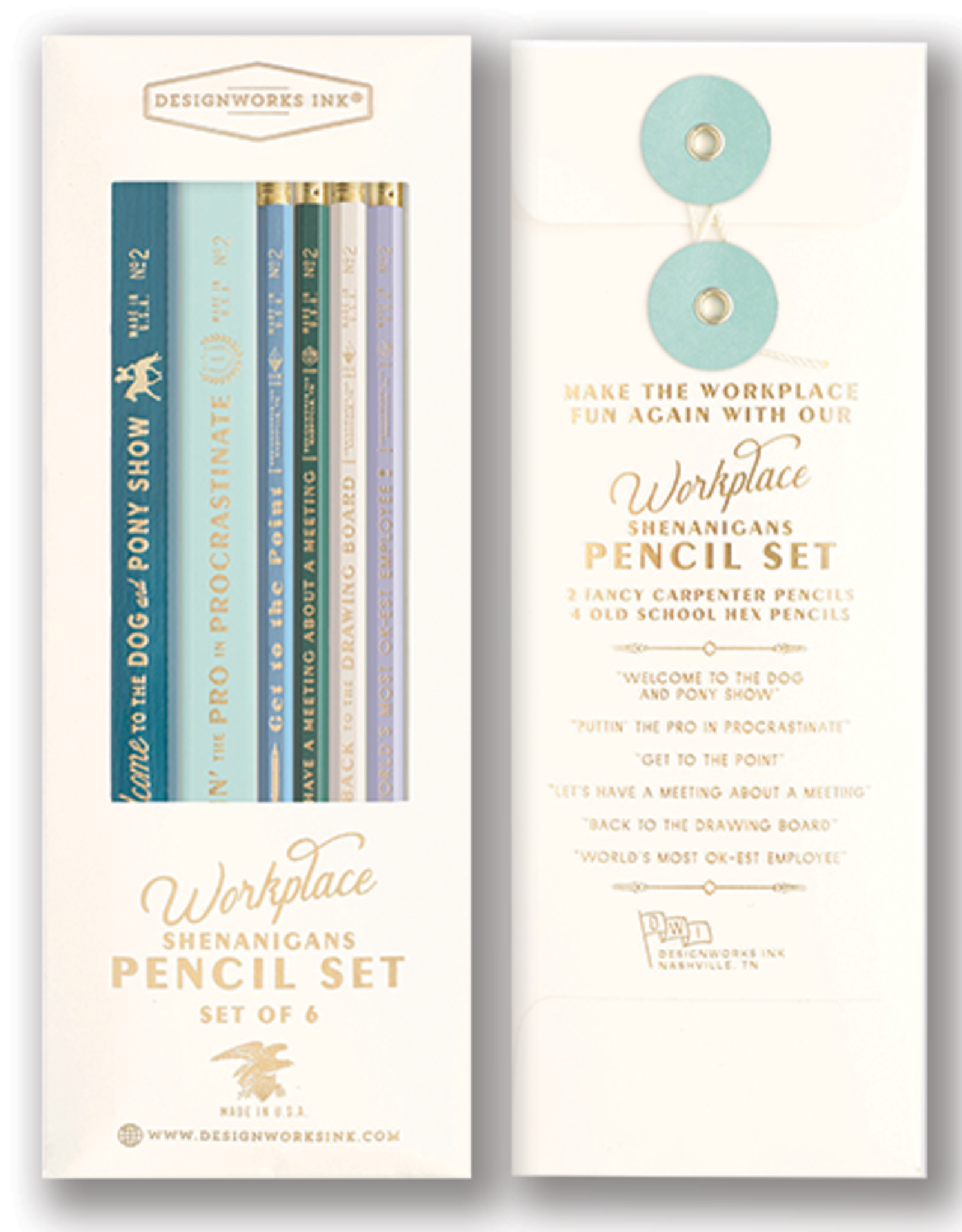 Project Planner Journal with Pencil Set