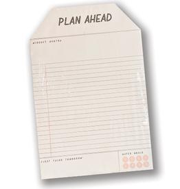 Plan Ahead Notepad