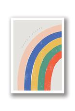 """Happy Birthday"" Rainbow Arch Card"