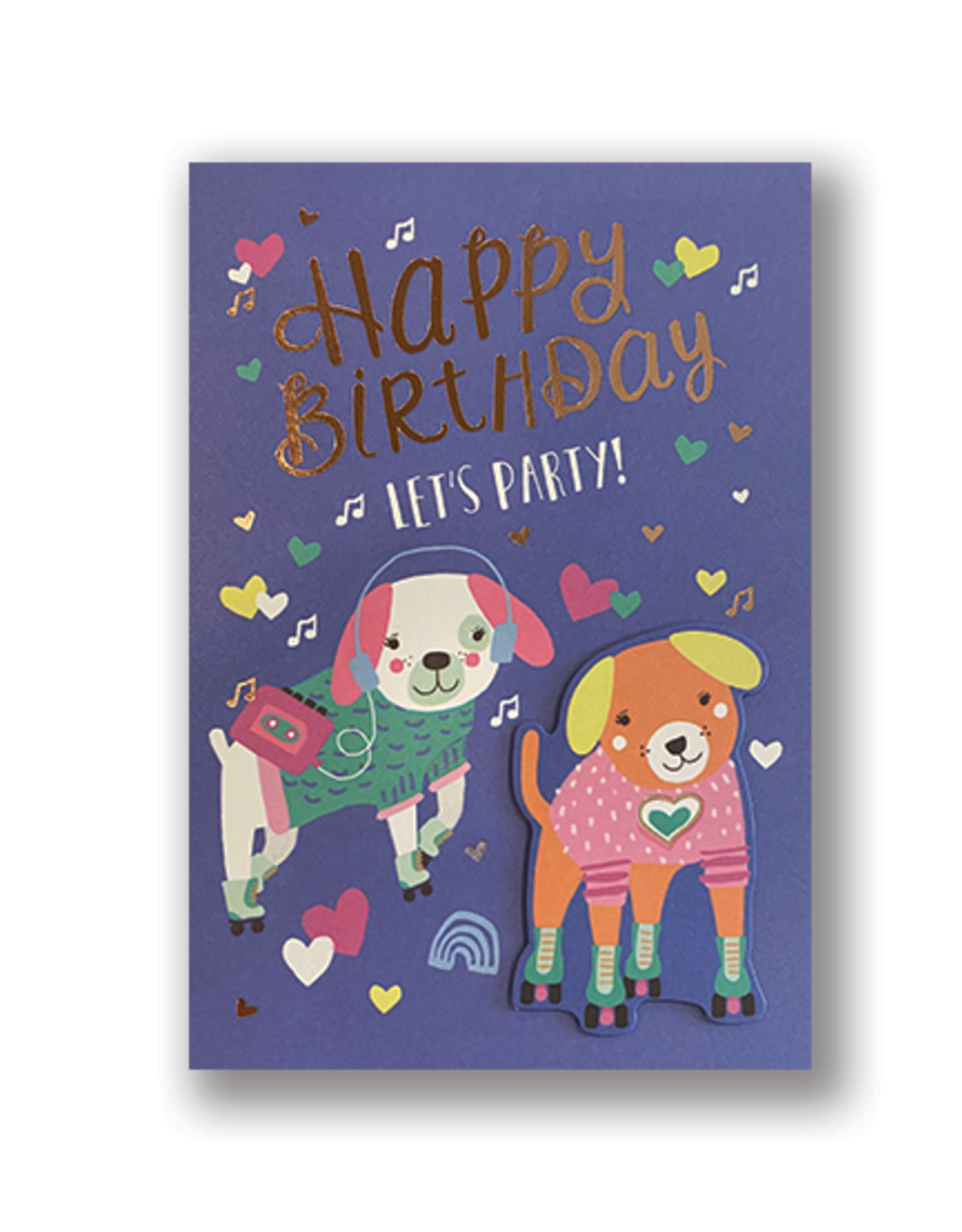 """""""Happy Birthday, Let's Party"""" Card"""