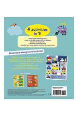 Colors Matching Game Book: 4 Activities in 1