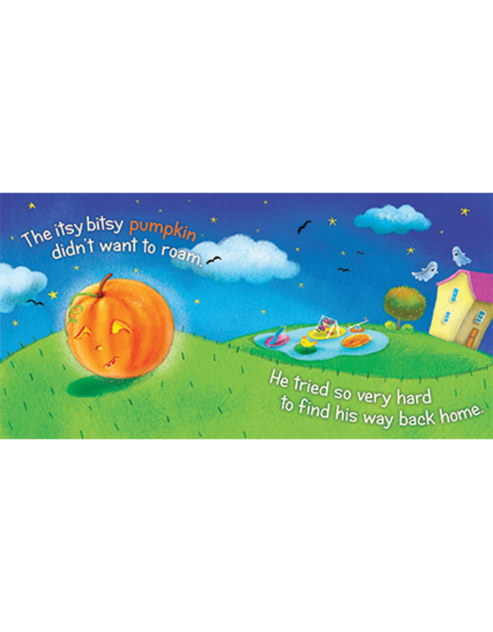 Itsy Bitsy Pumplin (Board Book)