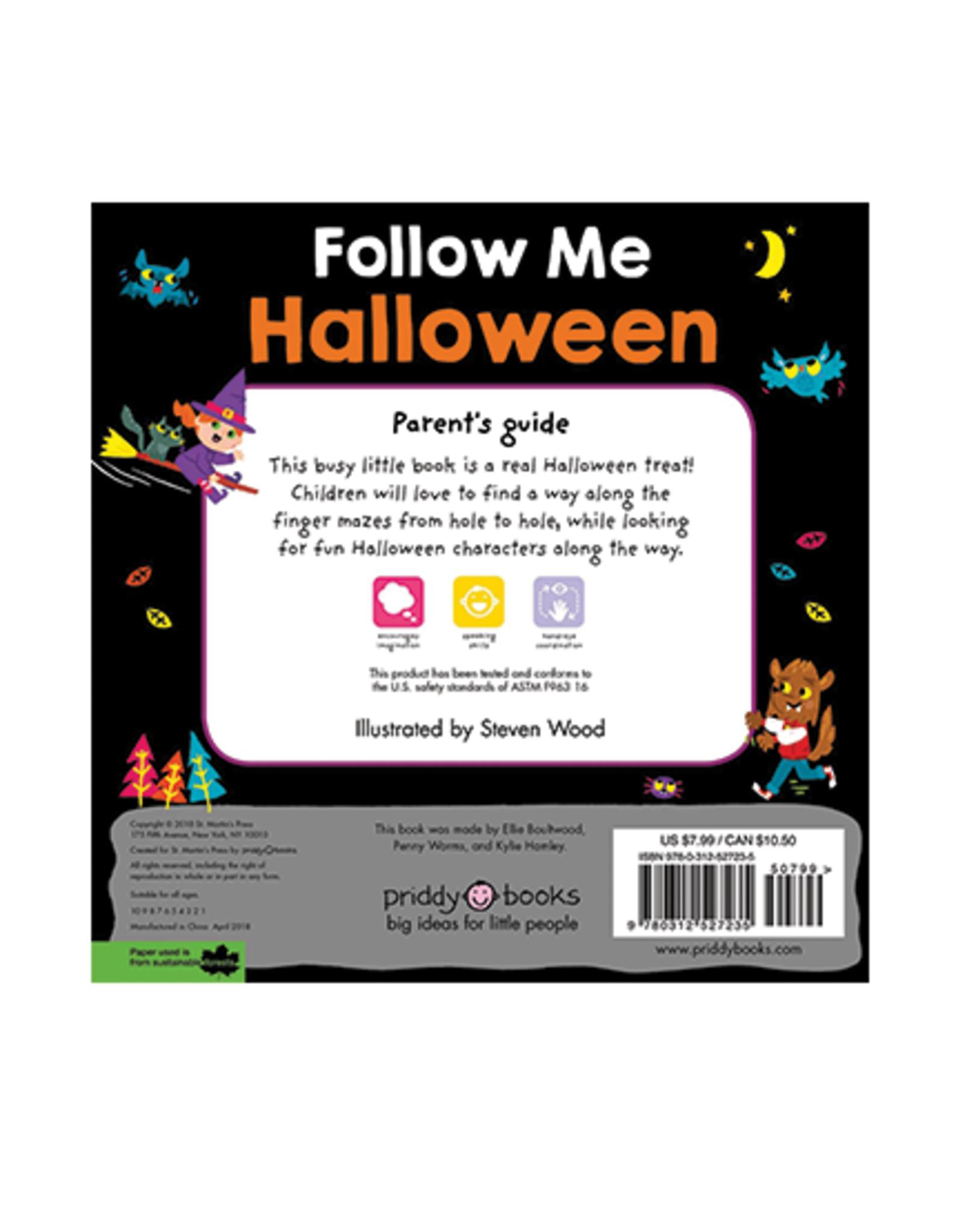 Follow Me Halloween:  Finger Maze Board Book