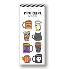 Pipsticks Halloween Mugs Stickers