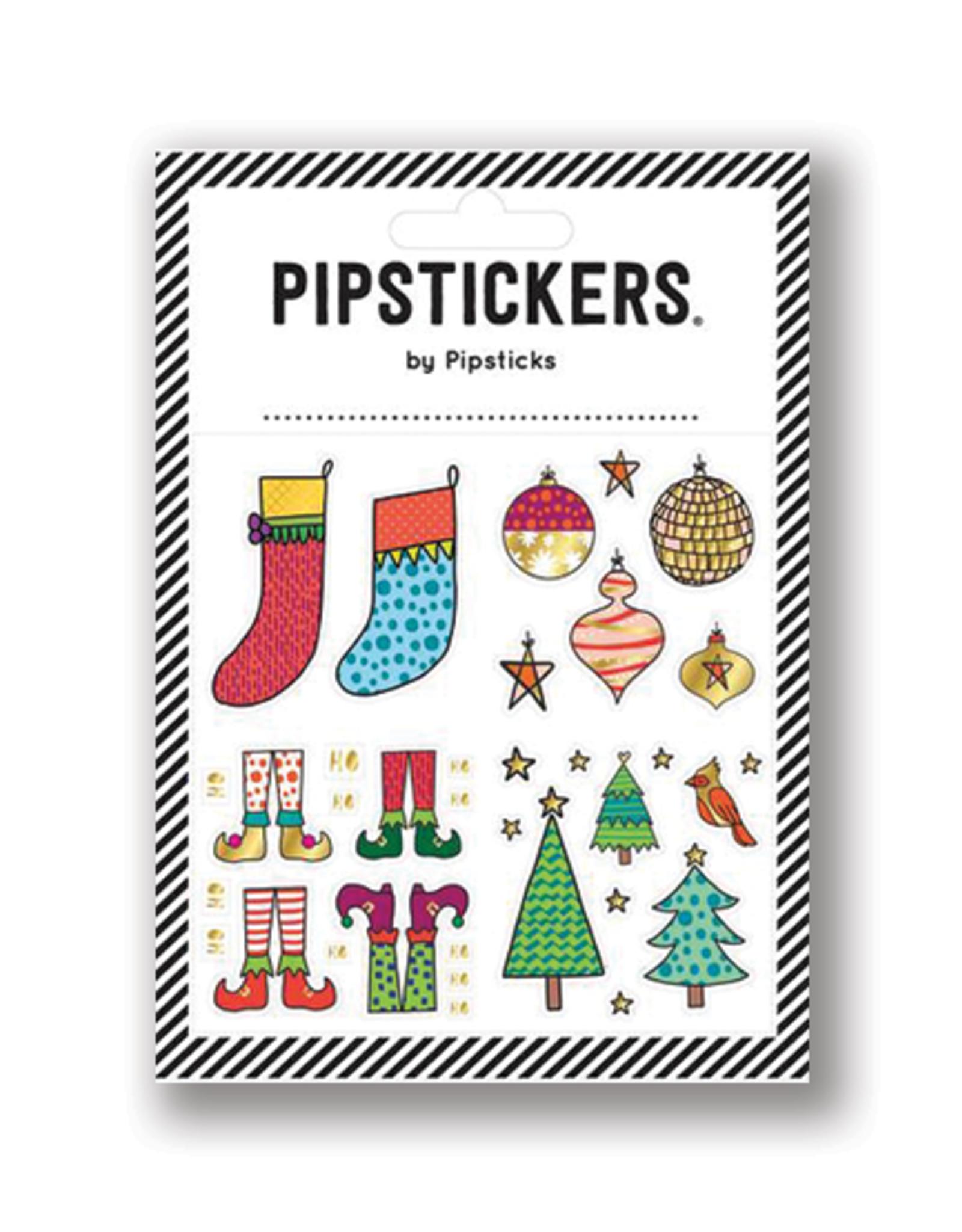 Pipsticks Ho Ho Holiday Stickers