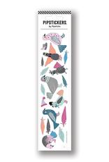 Pipsticks Polished Pigeons Stickers