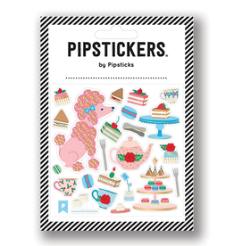 Pipsticks Poodle Patisserie Stickers