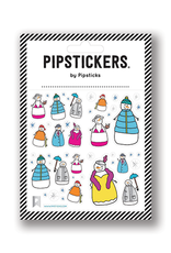Pipsticks Stylish Snow People Stickers