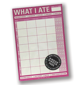 """""""What I Ate"""" Magnetic Notepad"""
