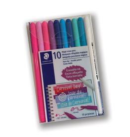 10 Magic Color Pens, Erasable Color Pens
