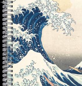 "Hokusai ""The Wave"" Spiral Journal"