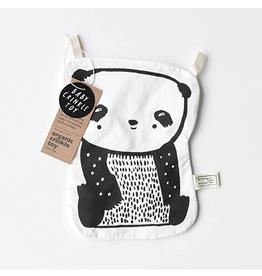 Wee Gallery Crinkle Panda Toy