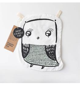 Wee Gallery Crinkle Owl Toy