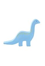 Tikiri Baby Brachiosaurus Dino Organic Rubber Teether