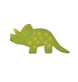 Tikiri Baby Triceratops Dino Organic Rubber Teether