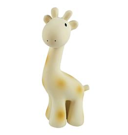 Tikiri Giraffe Organic Rubber Teether & Bath Toy