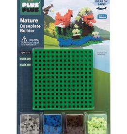 Plus-Plus Plus Plus Nature Baseplate Builder - Green