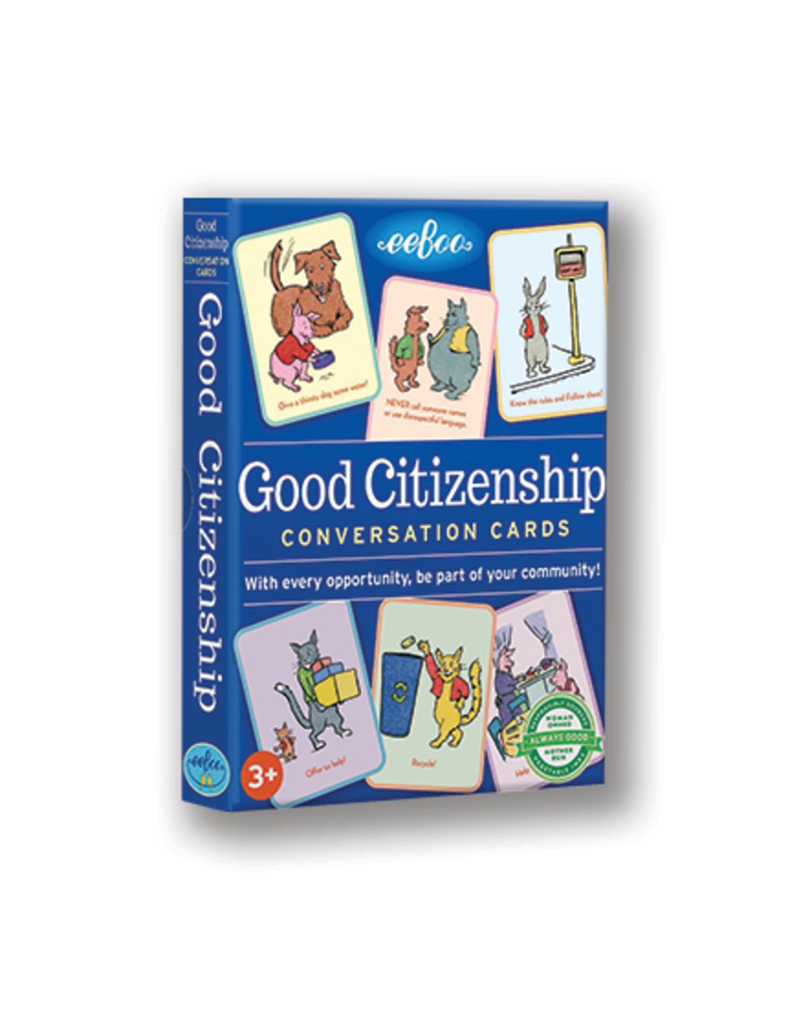 eeBoo Good Citizenship Conversation Cards