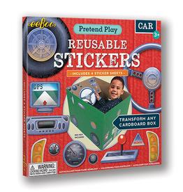 eeBoo Car Pretend Play Stickers