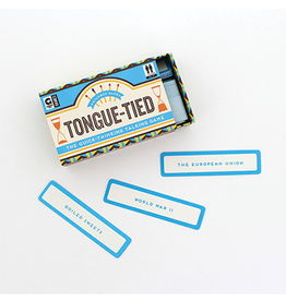 Ginger Fox Tongue-Tied Matchbox Game