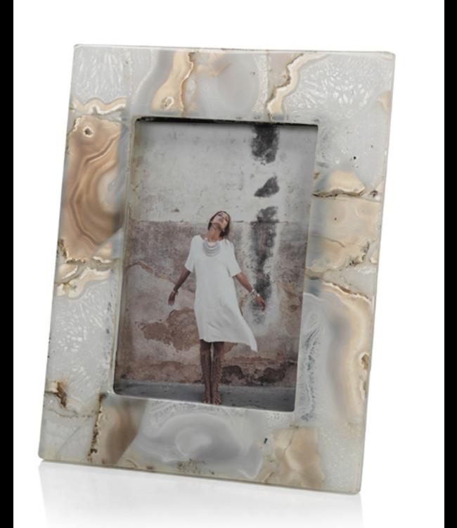 Preto Agate Photo Frame (4x6)