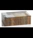 Zodax Cape Town Abstract Inlaid Mango & Sheesham Wood Box