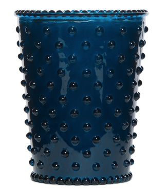Simpatico Ambergris Hobnail Glass Candle