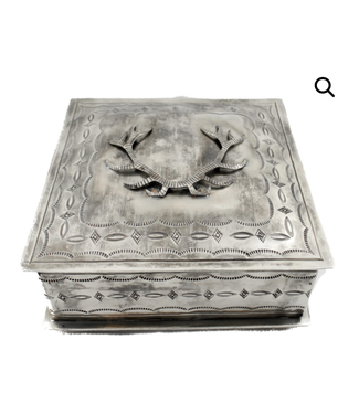 J. Alexander Stamped Antler Icon Box