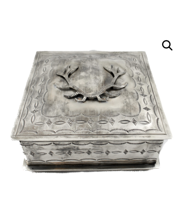 Stamped Antler Icon Box