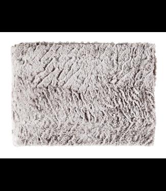 Surya Felina Faux Fur Throw (Wheat) - 50x60