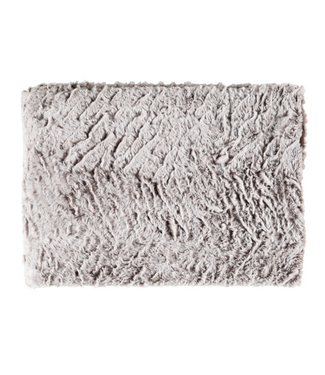 Surya Felina Faux Fur Throw (Wheat)