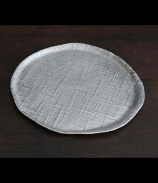 Beatriz Ball Sierra Seattle Small Round Platter - Gunmetal