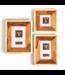Two's Company Wood and Bone Photo Frame (4x4)