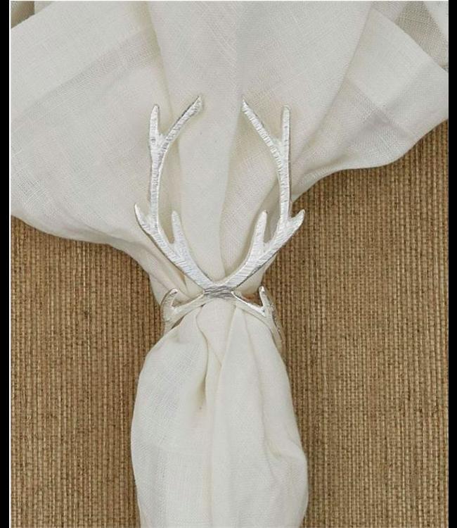Antler Napkin Ring  - Silver