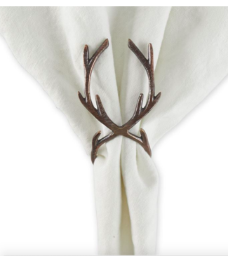 Tableau Antler Napkin Ring - Bronze