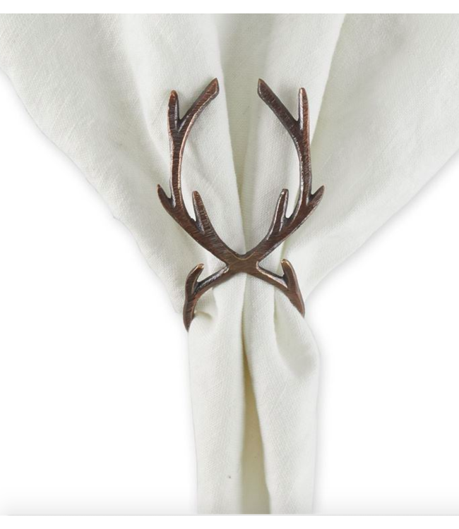 Antler Napkin Ring - Bronze