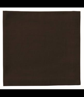Tableau Black Linen Napkin