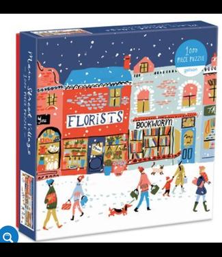 Hachette Book Group/ Abrams Books Main Street Village 1000 Piece Puzzle