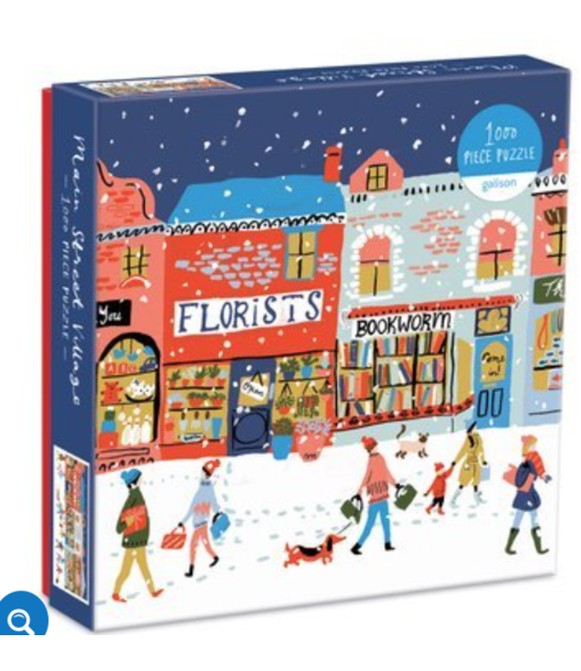 Main Street Village 1000 Piece Puzzle