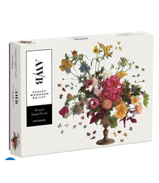 Hachette Book Group/ Abrams Books Ashley Woodson Bailey 750 Piece Shaped Puzzle