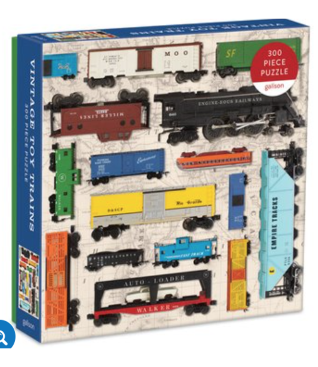 Vintage Toy Trains 300 Piece Puzzle
