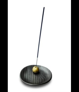 Skeem Black and Gold Incense Burner